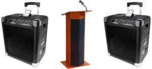 Portable Press Conference Package
