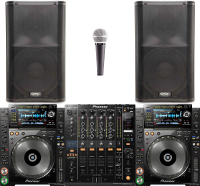 Pro CD Players DJ Package