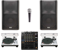 Pro Turntables DJ Package