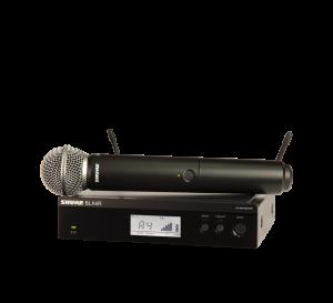 Shure BLX24R/SM58 Handheld Wireless Microphone System