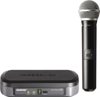 Shure PG24-PG58 Performance Wireless Handheld Microphone System
