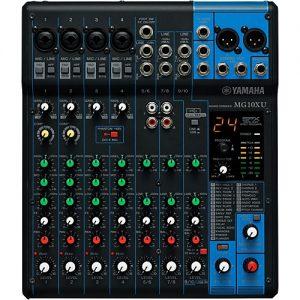 Yamaha MG10XU 8-Input Stereo Mixer